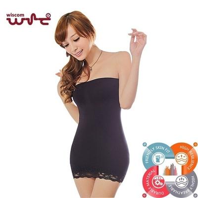 4147940e03cc Qoo10 - Women s Seamless Lace Full Body Slip Slimming Tube Shapewear Dress  Sli... : Women's Clothing