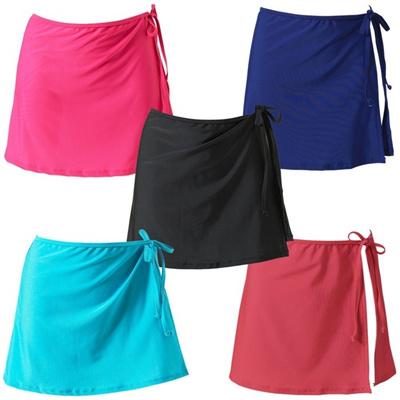 5ea16b1bfa Qoo10 - Women s Solid Chiffon Beach Cover Up skirt Swimwear Swimsuit Wrap  for ... : Women's Clothing