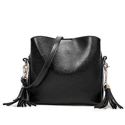 642dd23c1a81 Qoo10 - Women Shoulder Bags Ladies Crossbody Bag with Tassel Cross body Bag  Pu...   Bag   Wallet
