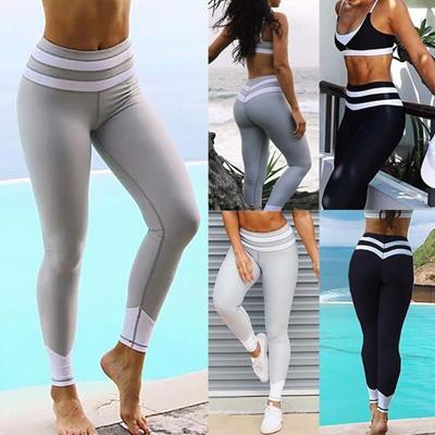 Qoo10 - Women Sports YOGA Workout Gym Fitness Leggings Pants Jumpsuit  Athletic...   Women s Clothing d8d23bd0d