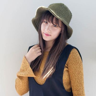0c6eb0d3 Qoo10 - Women Sun Hats Dot Cotton Ribbon Buckets Hat Hats : Fashion  Accessories