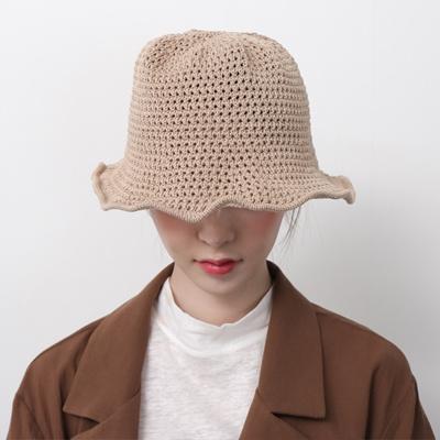 49c56775 Qoo10 - Women Sun Hats Knit Wire Humbles Woman Bucket Hat : Fashion  Accessories