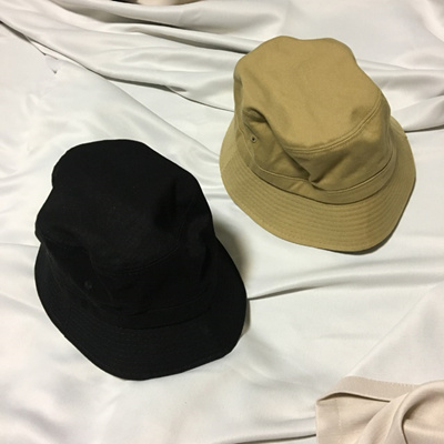 ea75b4d4 Qoo10 - Women Sun Hats Uniform plain bucket hat black, bei : Fashion  Accessories