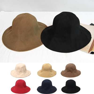 d16e52fa Qoo10 - Women Sun Hats Women Daily Cotton Buckets Hat Humb : Fashion  Accessories