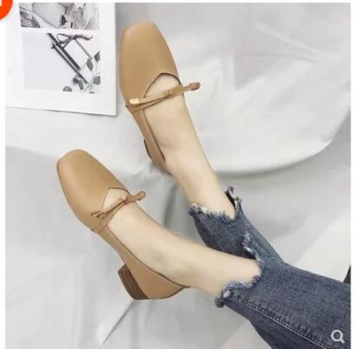4933bfa95fc Womens round sneakers hollow bow thick heel sandals with beige black light  brown grandma shoes
