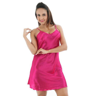 Chemise night satin sexy