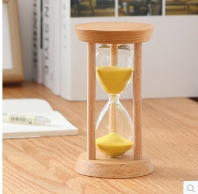 Wood hourglass timer Child 10/15/30 minutes time