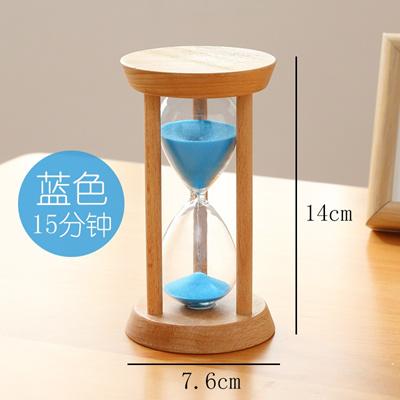 Wooden Hourglass Timer Children 10 /15 /30 min time half hour creative  small creative