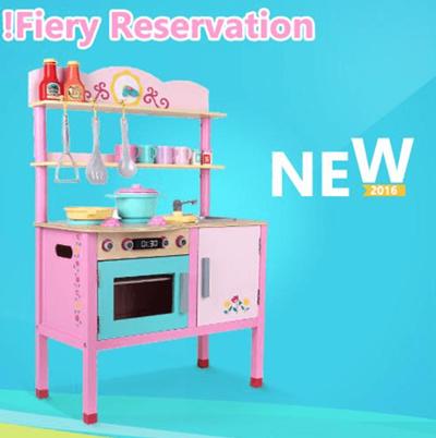 qoo10 wooden kitchen set toys