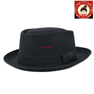 Qoo10 - Wool Felt Crushable Porkpie Vintage Round Short Brim Fedora Hat Cap  XG   Fashion Accessories c6f8d5b9aa8