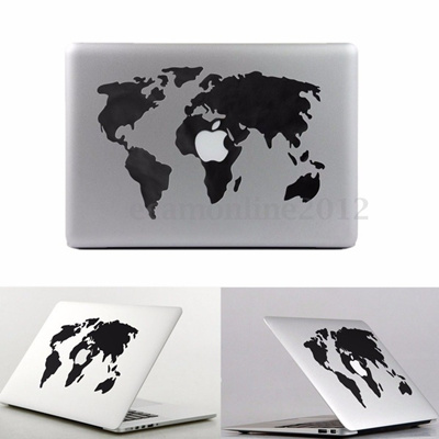 Qoo10 world map vinyl decal sticker skin for apple macbook airpro world map vinyl decal sticker skin for apple macbook airpro laptop 13 15 gumiabroncs Choice Image