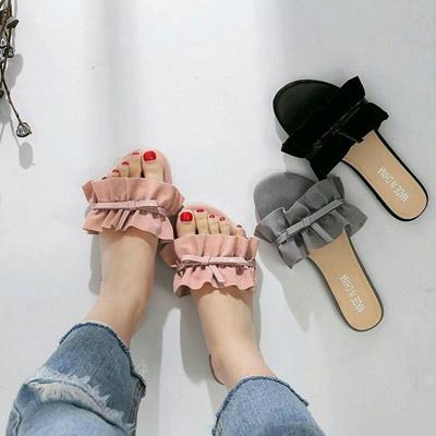 Flat Nj09 Wrinkle Quality Women's Sandals High KJcTFul13
