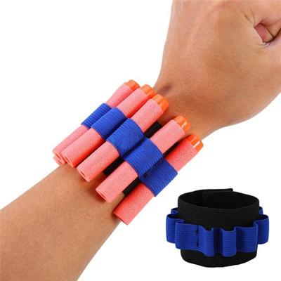 Wrist Support Elastic Wrist Band Storage Soft Bullets For Nerf Gun Children  Toy