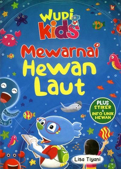 Qoo10 Wudi Kids Mewarnai Hewan Laut Buku Hobi