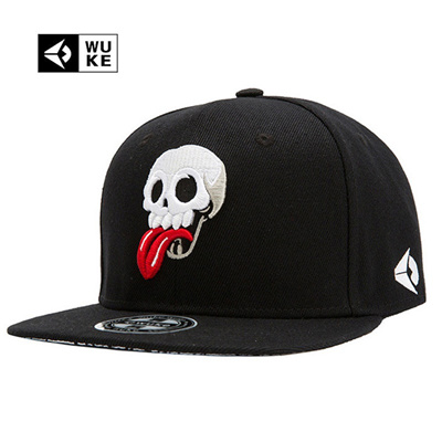 Qoo10 - WUKE Brand New Hip Hop Snapback Cap Hats Skull Adjustable Baseball  Cap...   Men s Bags   Sho. 39148defa31
