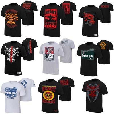 0d368edd Qoo10 - WWE BROCK LESNAR men shirt t-shirt suplex city the beast : Men's  Fashion