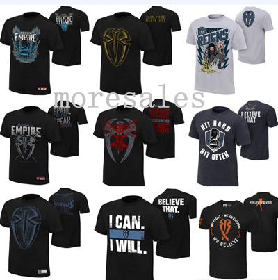 2615abfe8d38 Qoo10 - WWE Roman Reigns men shirt T-Shirt EMPIRE One versus All I ...