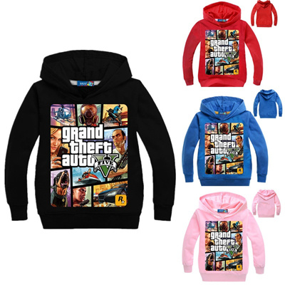 XBOX Games Kids Girls Boys Cartoon Hoodies Casual Printed Costume Sweatshirt
