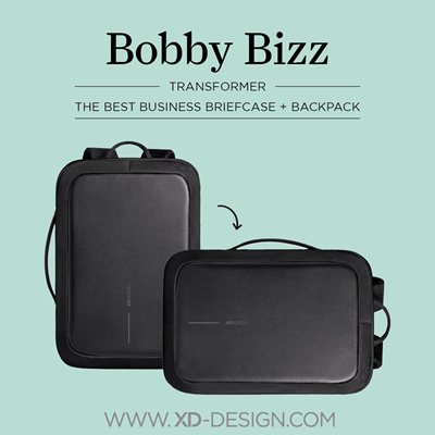 bf04e8d7b708 XD Design Bobby Bizz Anti-Theft Bag Deluxe☆Triple Function☆Shoulder Strap+