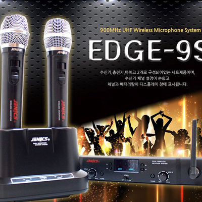 XENICS EDGE 9S Wireless Microphone 900 MHz Band 62 Channels Hand New