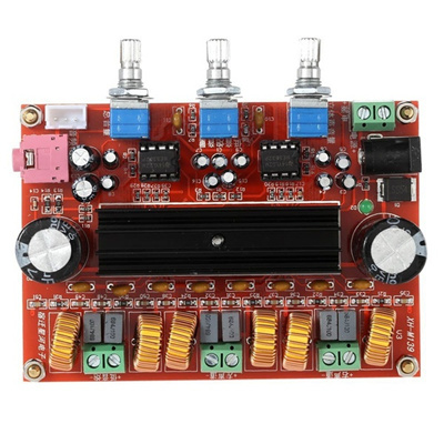 This is a nice audio amplifier with good sound quality.