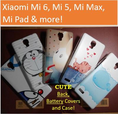 Xiaomi CompatiblesXiaomi Mi 6 / Redmi Note 4 3 2 1 Case / Mi Max / Redmi 3S  / Mi 5 / Mi Pad Back Covers / Redmi 4A