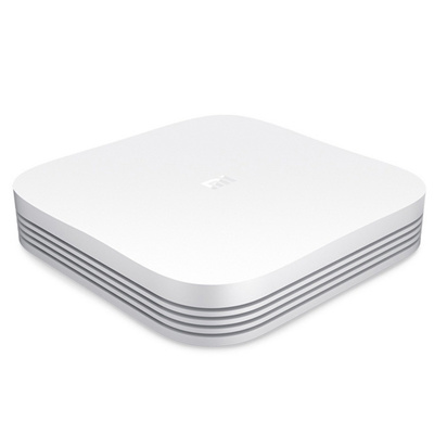 Xiaomi MDZ-18-AA Smart 4K HD TV Box 2GB RAM、 8GB ROM - White (US Plug)