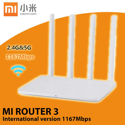 Xiaomi Mi WiFi Router 3 White International Version