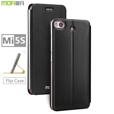 cheaper 2c086 d9dcc Xiaomi Mi5s Plus case MOFi original xiaomi 5s case flip cover leather  holder silicone Mi 5s gold gitter luxury capa coque funda