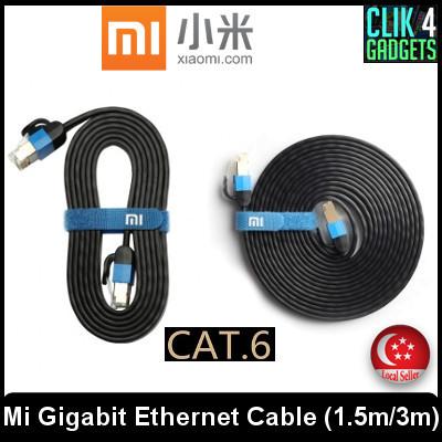qoo10 ethernet cable computer \u0026 gamexiaomi mi gigabit ethernet cable cat 6 1 5m 3 0m network
