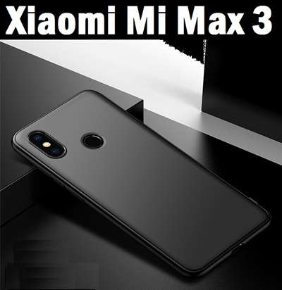 buy online 1e49b a1552 Xiaomi★ XiaoMi Mi Max 3 Ultra Slim Matte Precise Fit Case Casing Cover  Tempered Glass Screen Protector