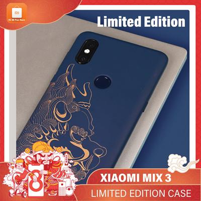 disponibilità nel Regno Unito 4737e 9a7ed XiaomiXiaomi Mi Mix 3 Original case cover Xiaomi Mi Mix3 forbidden city case