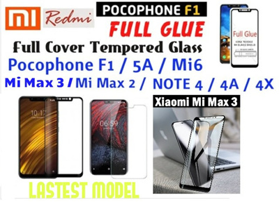 ... Air Case Series Clear Source · XIAOMI POCOPHONE F1 MI MAX 2 REDMI 5A MI 6 NOTE 4 4A 4X FULL GLASS