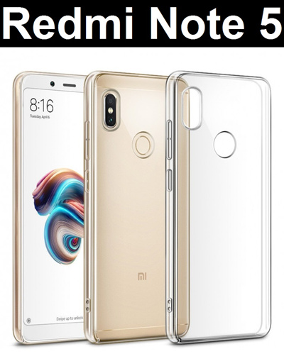 save off 05e46 2d013 Xiaomi★ Xiaomi Redmi Note 5 / ProTransparent Crystal Clear Case Casing /  Tempered Glass Screen Protector