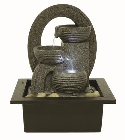 Qoo10 xmas gift water fountain feng shui water for Water feature feng shui