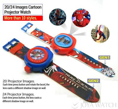 Xmas New Year Gift Watch for Kids Children Digital Cartoon Toy Projector  Watches Frozen   BEN10 824ab1cc04