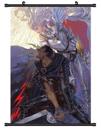 Qoo10 Xxh4749 Berserk Kentaro Miura Decor Anime Manga Wall Poster