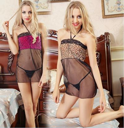 Y008 E2 99 A5hot Nightgown Flower Sexy Lingerie Bathrobes Lace Party Dress Sleepwear Wear Underwear Babydoll Night