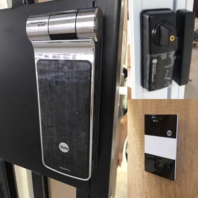 Qoo10 - Yale YDR 424G Digital Lock for HDB/BTO/Condo Gate