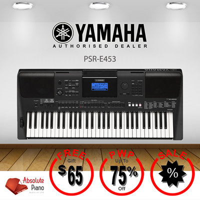 qoo10 yamaha psr e453 tv entertainment. Black Bedroom Furniture Sets. Home Design Ideas