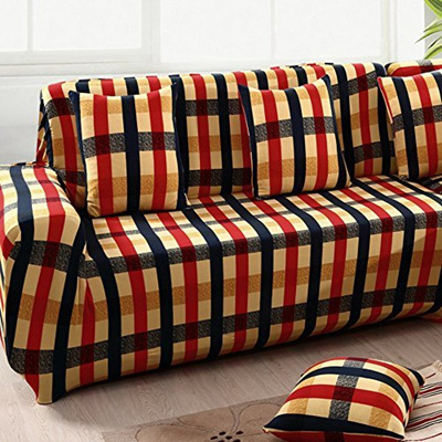 Yazi Holiday Gingham Stretch Fit Recliner Loveseat Chair Sofa Slipcover Furniture Cover