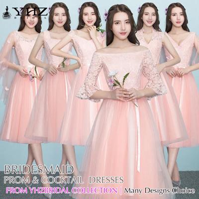 b46a777eac Light Pink Bridesmaid Dress Short Semi Prom Dress Cocktail Party Dress  Formal Dress Holiday Dress