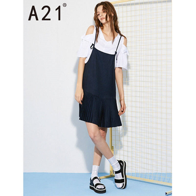 13f76ff1c7893 Qoo10 - YISHION dress online brand A21 2017 summer new dress female fashion  la...   Women s Clothing