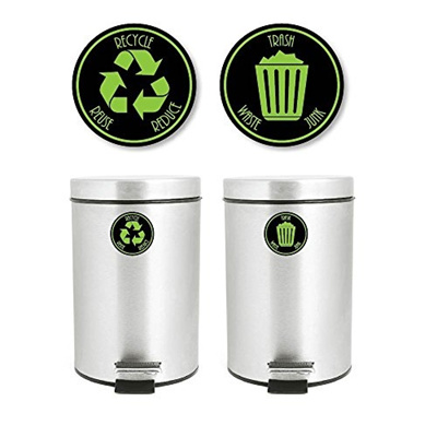 Qoo10 Yoonek Graphics Recycle And Trash Decal Sticker For Trash