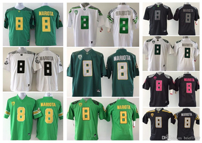 san francisco 7692d 35e72 Youth Oregon Ducks 8 Marcus Mariota Kids Boys Children College Football  Jersey