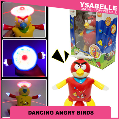 Ysabelle OSM[NEW ARRIVAL] Angry Birds Sing and Dance Lights Kids Toys Happy  Kid