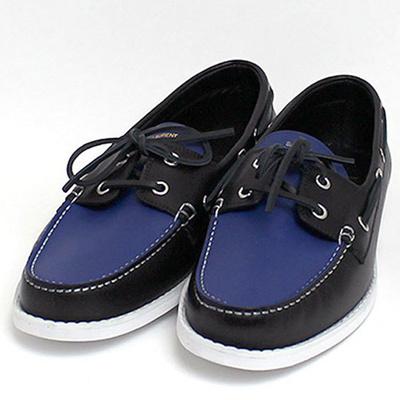 8981cff6667 Saint Laurent Paris SAINT LAURENT PARIS Men's deck shoes NERO / BLEU (Black  / Blue