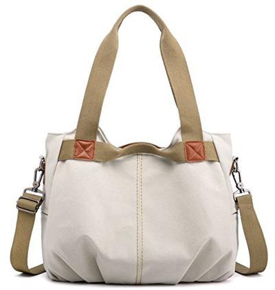 47a3f52699 Qoo10 - Z-joyee Womens Ladies Casual Vintage Hobo Canvas Daily Purse Top  Handl... : Bag & Wallet