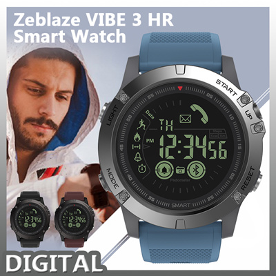 Zeblaze Vibe 3 Hr Smartwatch Ip67 Waterproof Heart Rate Monitor Ips Color Display Sport Smart Watch