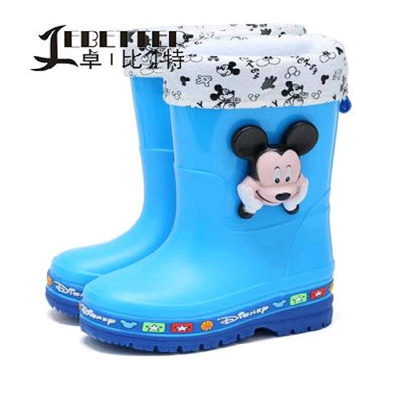 qoo10 zhuo bit 2017 new boots children cartoon rain boots child